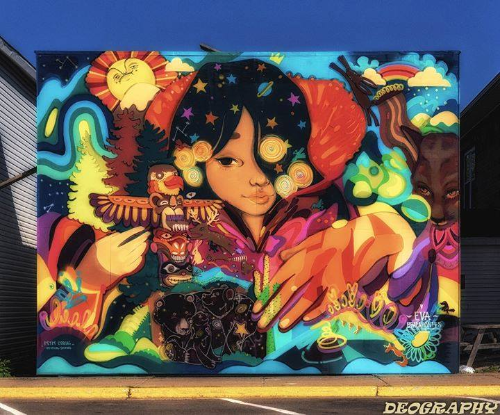 eva bracamontes mural festival inspire moncton petitcodiac