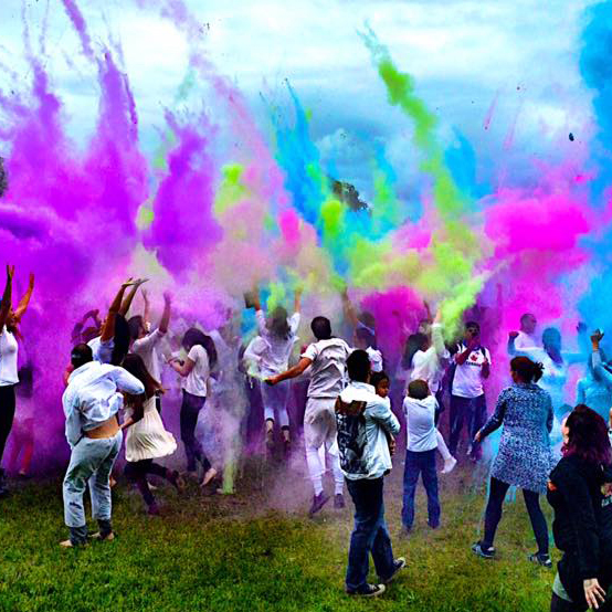 Color Party festival inspire moncton